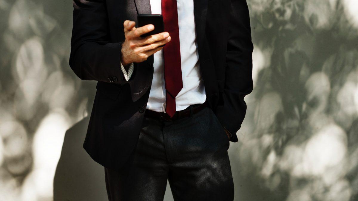 garnitur krawat męski