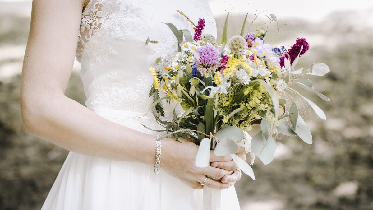 ślub w stylu boho - panna młoda